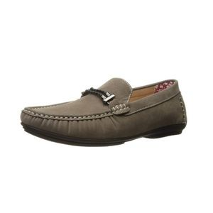 Stacy Adams Mens Percy Braided Strap Moccassin